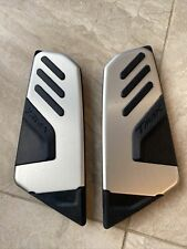 Yamaha T-Max XP500 Footrest Stand Mat / Rubber Left Right Pair Genuine