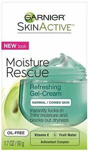 Garnier SkinActive Moisture Rescue Face Moisturizer - Normal/Combo - 1.7oz