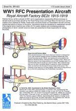 Blue Rider Decals 1/72 ROYAL AIRCRAFT FACTORY BE2c RFC PRESENTATION AIRCRAFT
