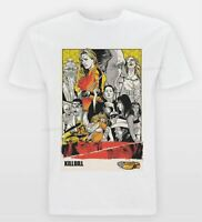 BILL Poster T Shirt Tarantin Film Cult Tee Movie Art Vintage Hattori