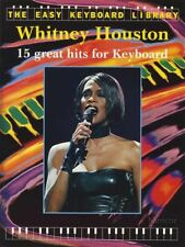 Whitney Houston The Easy Keyboard Library Sheet Music Book