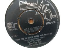 Gladys Knight and the Pips Take Me In Your Arms TMG 604 Exc Tamla Motown 1967