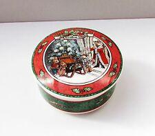Villeroy & Boch trinket box Foxwood Tales Christmas small 10cm box with lid VGC