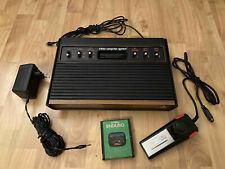 Atari 2600 6 Schalter/Switch Version mit original Zubehörpaket