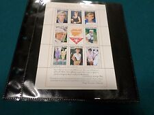 Vintage Princess Diana Cambodia Memorial Stamp Sheetlet from Mystic Stamp Co