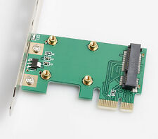 Mini PCI-E to PCI-E 1x Adapter for Wireless Adapter with 3 Antennas DIY parts