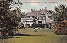 1910 DA Pierce Home Warwick Terrace East Greenwich RI post card