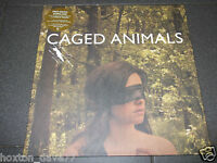 CAGED ANIMALS Eat Their Own LP UK 2011 Indie PSYCH Electronic