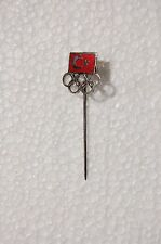 TURKISH / TURKEY NOC PIN LAPEL 1970s generic - Olympic Games - National Olympic