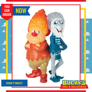 2021 Hallmark The Year Without a Santa Claus Snow Miser and Heat Miser Ornament