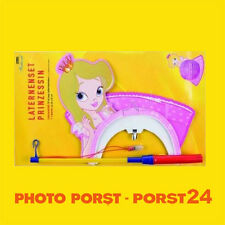 SET Prinzessin Laterne Lampion St. Martin Umzug mit Laternenstab leuchtend