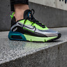 NIKE Air Max 2090 White Black Volt Blue Force BV9977 101 Sneakers DOUBLE BOXED