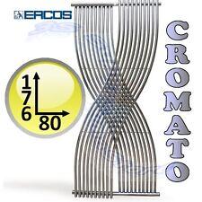 3S TERMOARREDO GEMINI ERCOS CROMATO CROMO LUCIDO SCALDASALVIETTE DESIGN 180 x 80