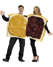 Morris Costumes Adult Unisex Foam Peanut Butter/Jelly Couple Costume. FW130924
