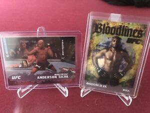 2009 Topps UFC Round 2 Anderson Silva The Spider Bloodlines