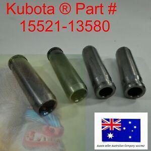 4 x Inlet Valve Guide fits Kubota V1902 V2203 V2003 V1903 V2403 15521-13580
