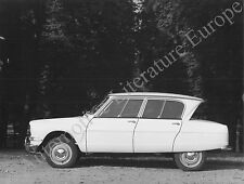 1966 CITROËN AMI 6 PRESSEBILD PRESS FACTORY PICTURE WERKFOTO BILD ORIGINAL