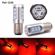BA15S P21W Red Strobe Flash Blinking Brake/Stop Bulb 1156 12SMD S25 LED Bulbs
