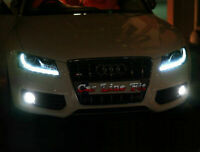 2x H11 Bulbs Fog Light LED Cree Cob White 6000K Canbus For AUDI A5 2007-2011