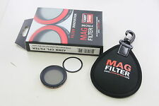 PNC MagFilter 42mm CPL Circular Polarizing Filter for Sony RX100 II IV  V HX20V