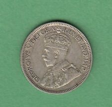 1929 Canadian 10 Cents Silver Coin - EF