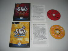 The Sims - HOT DATE + ON HOLIDAY Pc Cd Rom 2 x Sims 1 Add-On Expansion Packs