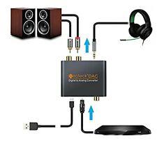 Neoteck DAC Digital Analog Audio Converter Optical Coaxial Toslink Signal NTK004