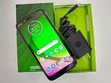Unlocked Indigo Motorola Moto G7 Play Android Phone, New Open Box No Warranty