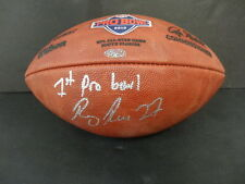 Ray Rice Signed 2010 Official NFL Pro Bowl Football Autograph PSA/DNA AC85867