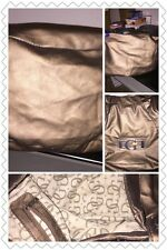 GUESS BROWN HOBO PURSE SATCHEL BAG