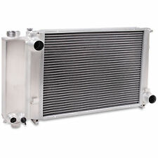 45MM ALUMINIUM ALLOY RADIATOR RAD FOR BMW 3 5 SERIES E30 E36 E34 318i 320i 325i