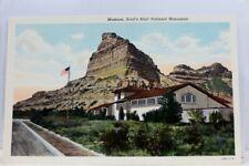 Nebraska NE Scott's Bluff National Monument Museum Postcard Old Vintage Card PC