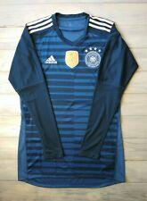 Germany soccer jersey small 2019 goalkeeper shirt Br7831 football Adidas