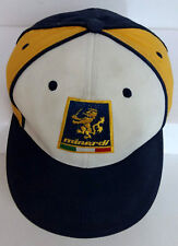 Vintage Minardi F1 Formula 1 Racing Cap Hat Embroidered Logo S M Stretch Fit