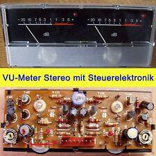 VU Meter Stereo db Einbauinstrument Aussteueranzeige Pegelanzeige Levelmeter LED