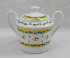 Raynaud Limoges BOUGAINVILLE sugar bowl / sucrier