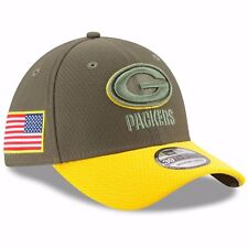 GREEN BAY PACKERS NFL NEW ERA 39THIRTY SALUTE TO SERVICE SIDELINE HAT M L   36 b548cf3d5