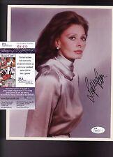 Sophia Loren Beautiful Actress Signed 8x10 Photo JSA Certified
