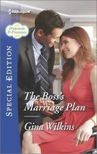The Boss's Marriage Plan (Proposals & Promises)-ExLibrary