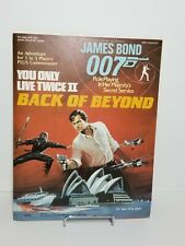 Victory Games James Bond 007 You Only Live Twice II Back of Beyond RPG Book