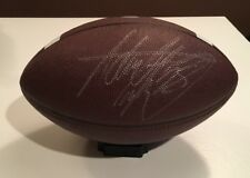 Adrian Peterson Vikings Autographed Auto Football Ball JSA Sticker Only