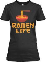 Ramen Noodle Anime Life Gildan Women's Tee T-Shirt