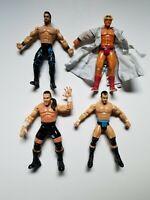 Four Horsemen IV WCW Toybiz Action Figure Set Flair Benoit Malenko Mongo