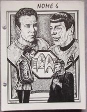 "Star Trek TOS Fanzine ""Nome 6""  SLASH"