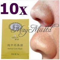 10pcs Herbal Deep Nose Pores Cleansing Stripes Blackheads Remover Conk Mask BG