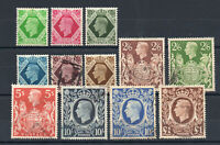 Great Britain - SG# 471 - 478c MH & Used (see image)     -    Lot 1220820