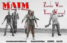 Zombie - Young Woman / 1:35 scale resin model kit - Zombie wars