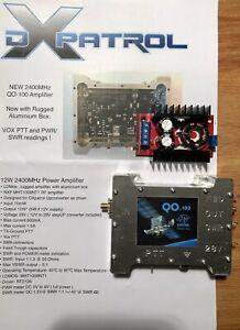 DX-Patrol 2,4 GHz 12 Watt Es'hail QO-100 Power Amplifier im Alugehäuse
