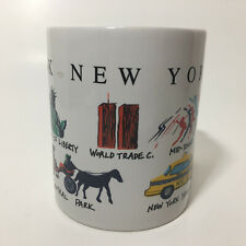New York WTC 9/11 World Trade Center Coffee Mug Souvenir Vintage Fifth Ave