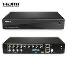 SANNCE 5in1 8CH 1080N DVR Video Recorder CCTV Security System Motion Detection